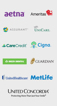 All accepted dental insurance logos