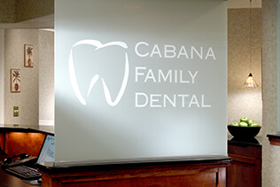 Cabana Family Dental sign